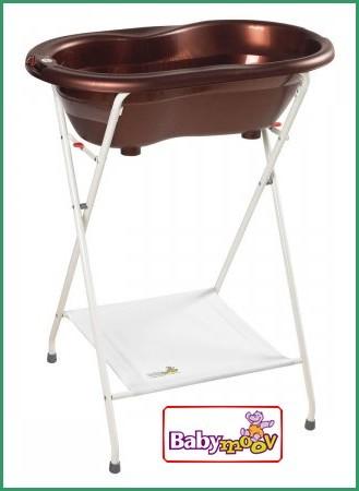 baignoire ergonomique avec pied chocolat